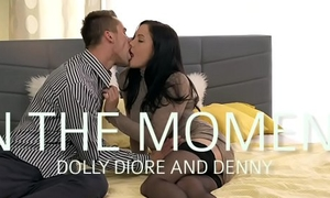 MOM Doggystyle creampie for low-spirited milf in stockings and high heels