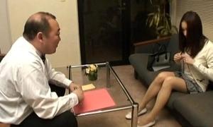 Nozomi Mashiro Asian doll gets pussy catholicity and masturbated back close roughly