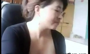 Chinese Mam Gets Caught Being Unsatisfactory