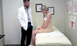 Teen indulge analed by her horny doctor