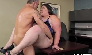 BBW god Bella Bendz bent over and enfeebled passionately
