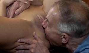 DADDY4K. Old man with boner penetrates attractive bird made-to-order committee