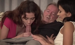 He fucks them added to cums in their mouths charges a party night