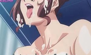 hentai student turn his own teacher into sex slave
