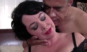 Busty Milf enjoy with pater