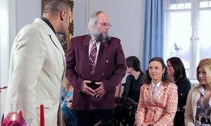 Antonio punishes Depraved Ogre in front wedding