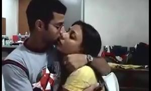 Indian Couple on their Honeymoon