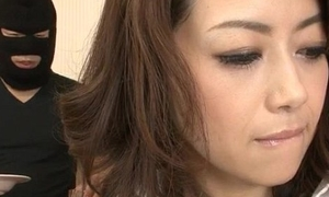 Maki Hojo clumsy hardcore with a covered distance from