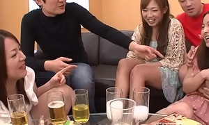 Creaming Asian sluts as A the party gets excitable up