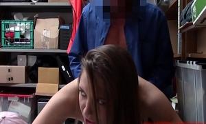 Shoplifting Mean Teeny Screwed By LPO Down Backroom
