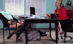 Hot Girl (krissy lynn) With Big Juggs Banged In Office movie-24