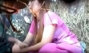 Young Manipur couple alfresco sex-mc