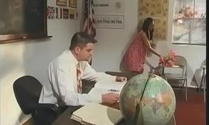 Sexy teacher licks with the addition of sucks