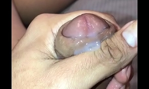 Thick brown cock cuming