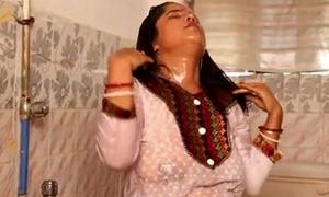 Desi Horny Housewufe Big Nipple Show  Unconforming Porn Non-static